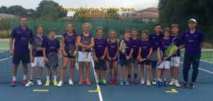 Groupe tennis 2016-17